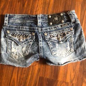 Miss Me designer shorts